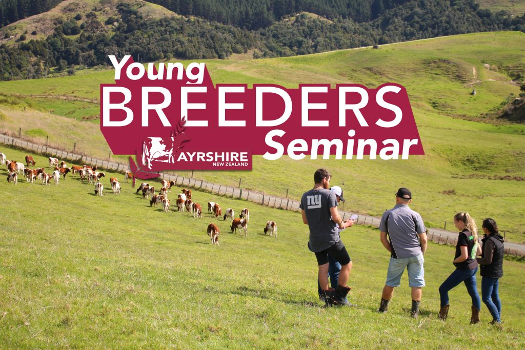Advertising the Ayrshire 2020 Young Breeders seminar